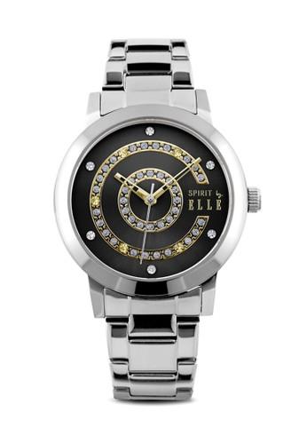 ELLE black and silver Jam Tangan Wanita Elle Spirit ES20086B02X E57FDAC0D29A46GS_1