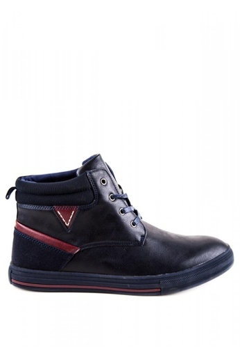 Otto navy Raphael Hi-cut Shoes OT407SH0J9A4PH_1