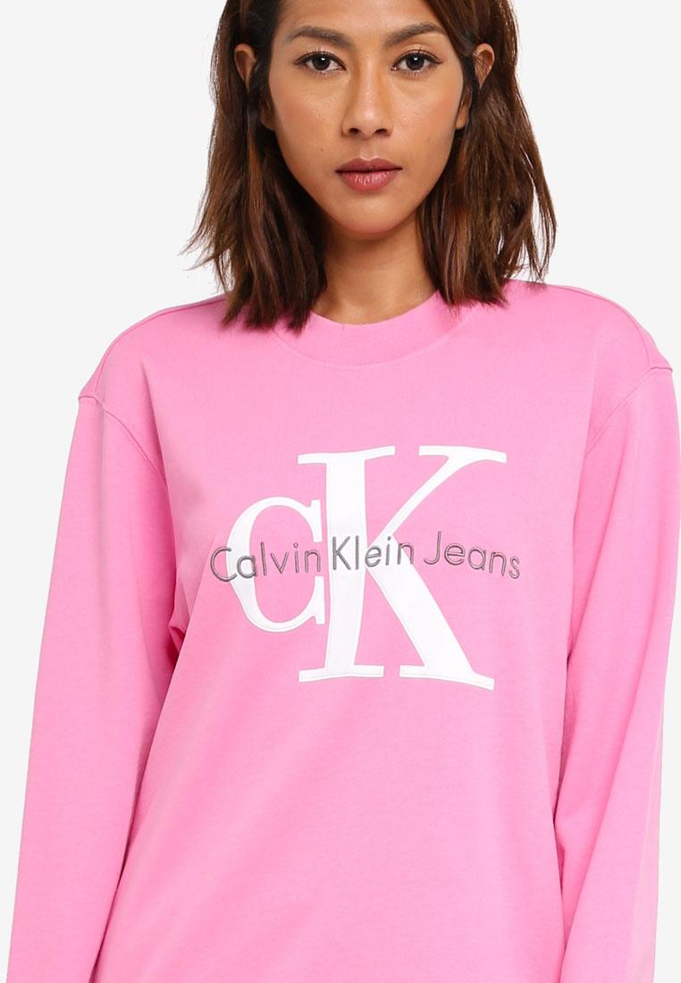 Klein Calvin Honorary White Jeans Klein Orchid Sweatshirt Calvin Wild wr75wqxI