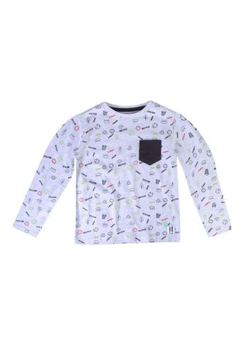 Babybol grey Print T-Shirt E5786KA941EA0CGS_1