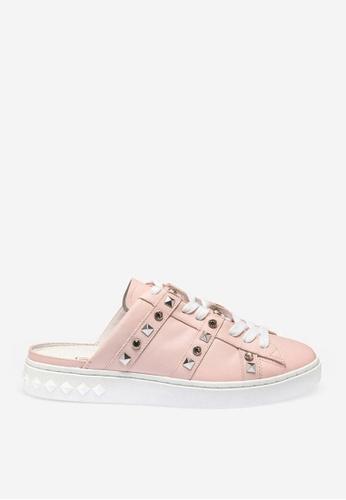 ASH 粉紅色 Party - 粉紅色人造鑽石運動鞋 CF031SHF53A1BDGS_1