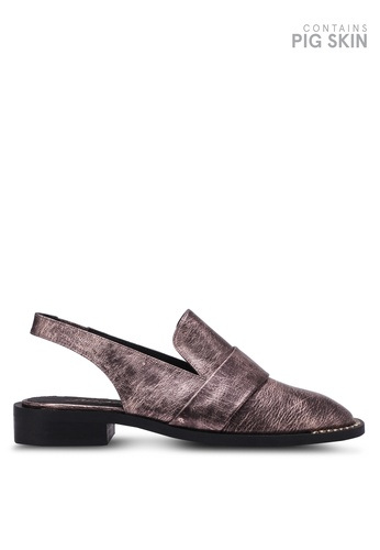 Free People red Abbey Road Slingback Loafers FR659SH0RUR8MY_1