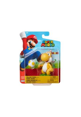 Kidmoro Nintendo Super Mario: W19 YELLOW YOSHI w/ EGG Poseable 4-inch Figure with Accessories 47958ES1623B4AGS_1