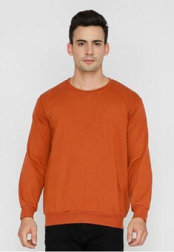 Nyonya Nursing Wear orange Nyonya Nursing Wear - Anka Rust Sweatshirts 847EDAA71A4E4DGS_1