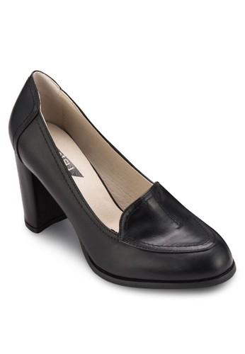 基本款粗zalora 心得高跟鞋, 女鞋, 鞋