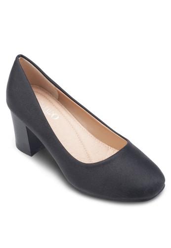 經典方頭粗跟鞋, 女鞋, 厚底高跟esprit台灣outlet鞋