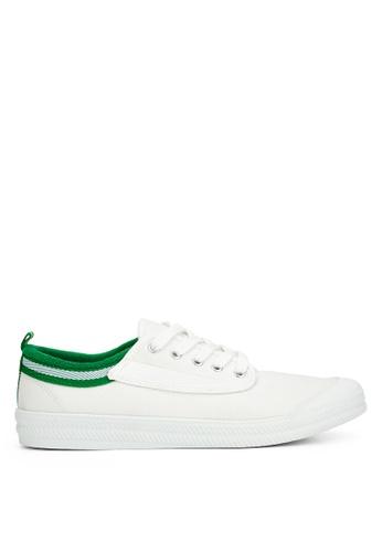 Anarkyzt white and green Vav Tennis Shoes AN992SH96QBRPH_1