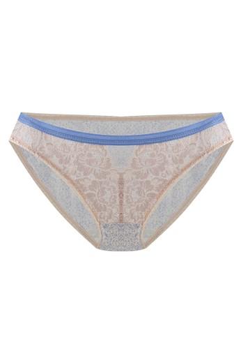 LAVABRA Intimates beige Very Sexy Panty - Clara Sexy Lace Microfiber Bikini Panty LA387US69SLIID_1