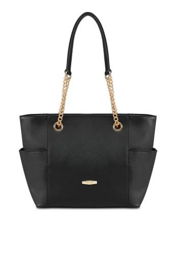Perllini&Mel black Faux Leather Tote Bag PE444AC0SIZOMY_1