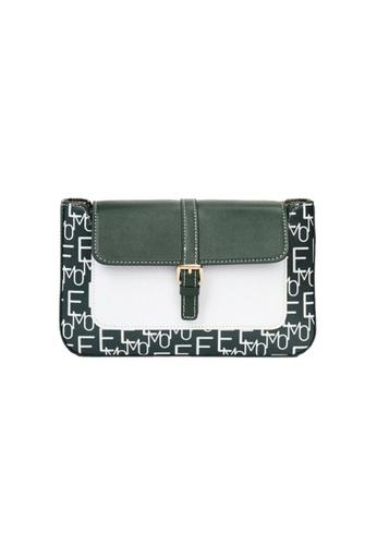 EMO green Korean fashion Brand‧Handheld‧Shoulder‧Baguette Bag - Camel 125E0AC3CBD29DGS_1