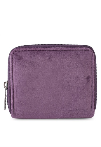 LC Waikiki purple Velvet Wallet 95E20ACD013C50GS_1