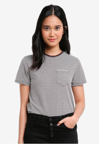 Penshoppe grey The Dress Code Relaxed Fit Tee With Pocket B9C22AA36A2A3CGS_1