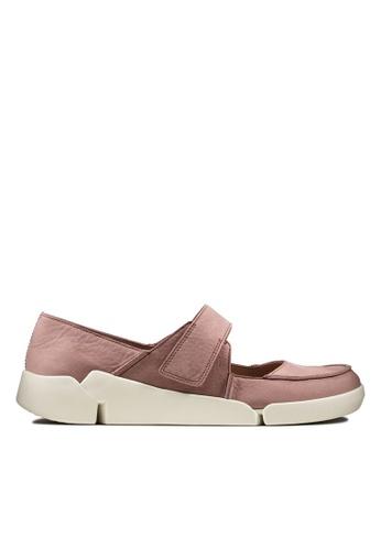 Clarks CLARKS Women's Casual Tri Jasmine Mauve Nubuck Shoes 09A90SH952BD76GS_1