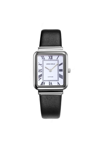 Aries Gold black and silver Aries Gold Enchant Isabella Silver L 5032Z S-W-L Women's Watch E243FACE99CCA5GS_1