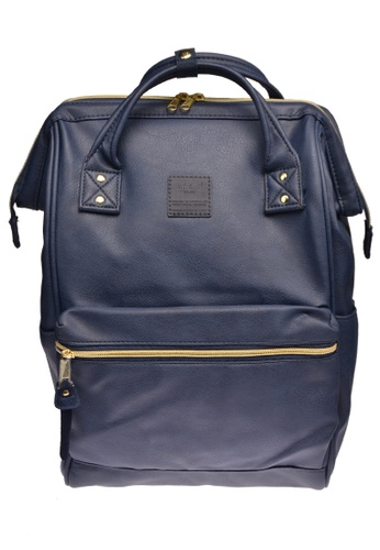 Anello navy anello Mini PU backpack 09323AC75D377FGS_1