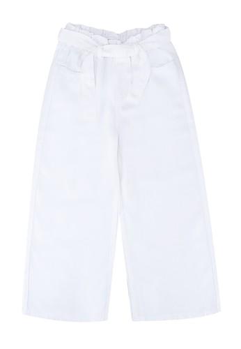 MANGO KIDS white Paper Bag Jeans 114D9KA4D95A1DGS_1