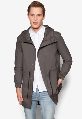 輕量棉質連帽大衣, 服esprit tw飾, 外套