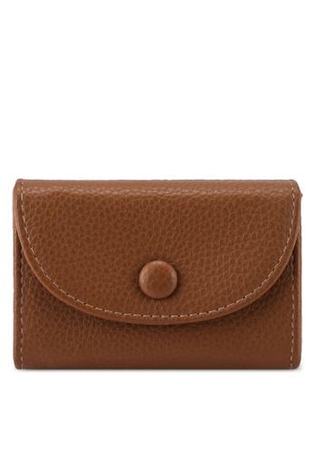 LOWRYS FARM brown Mini Card Case 37D8EAC7E36D53GS_1