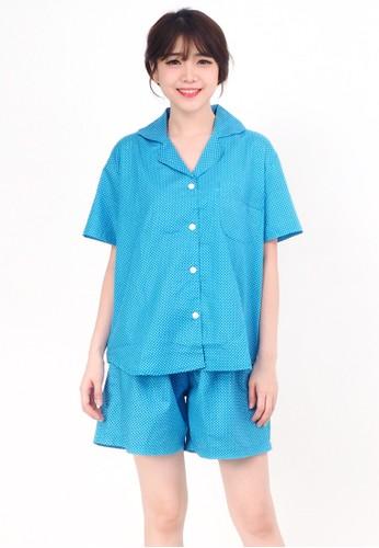 Pajamalovers Hilda Blue