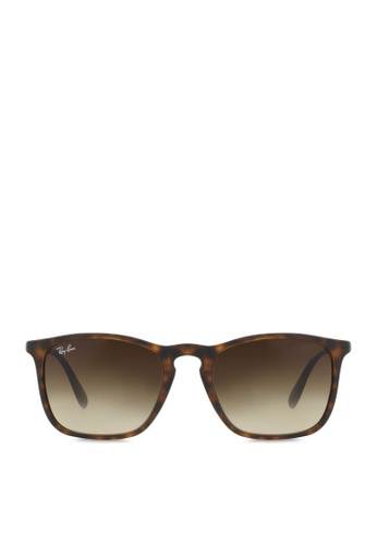 c981261052 Buy Ray-Ban Chris RB4187 Sunglasses Online on ZALORA Singapore