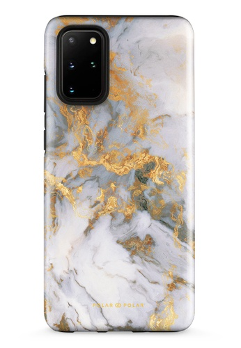 Polar Polar white Mist Marble Samsung Galaxy S20 Plus 5G Dual-Layer Protective Phone Case (Glossy) BABABAC245AFD7GS_1