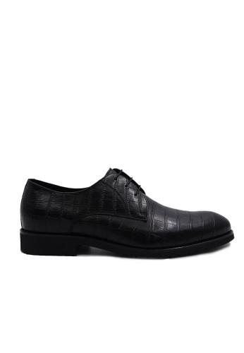Goldlion black Goldlion Premium Derby Shoes in Black (HSH116TG92B-9B) 36D0FSH5A72134GS_1