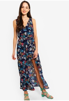 1117bf967e 29% OFF Something Borrowed Playsuit With Maxi Skirt Overlay HK$ 249.00 NOW  HK$ 176.90 Sizes XS S M L XL