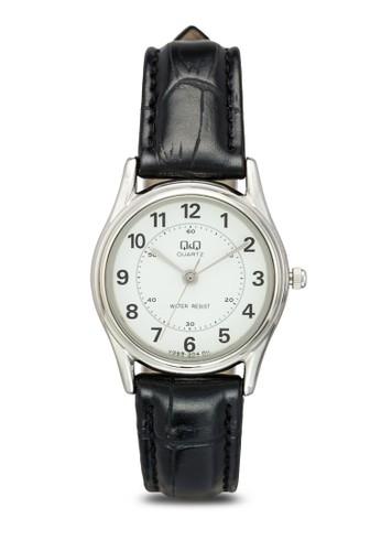 VG69J304Yzalora 內衣 數字皮革手錶, 錶類, 飾品配件