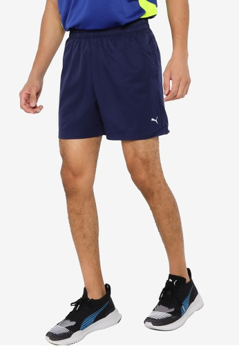 "PUMA navy Performance Woven 5"" Men's Training DB82AAA39D0743GS_1"