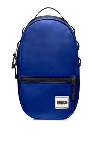 Coach blue Pacer Backpack (cv) FFD21AC635FA44GS_1