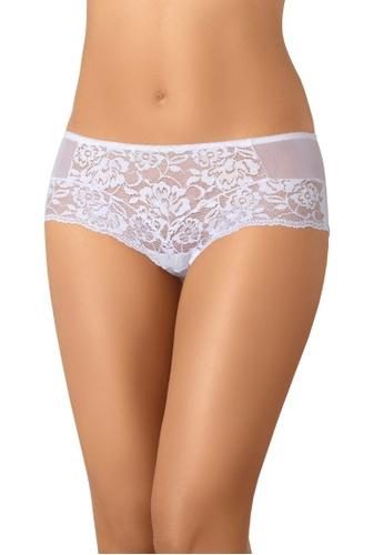 Teyli white Women's Shorts Kassi White 8F2F5US2B34340GS_1