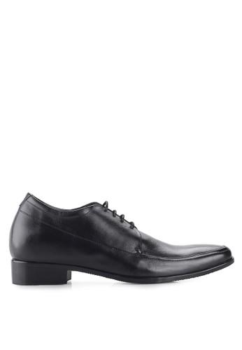 Keeve black Keeve Shoes Peninggi Badan Formal 137- Hitam 94601SHAC0EED7GS_1