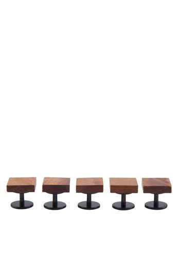 木製鈕扣組合, 飾品zalora 衣服評價配件, 男裝配件