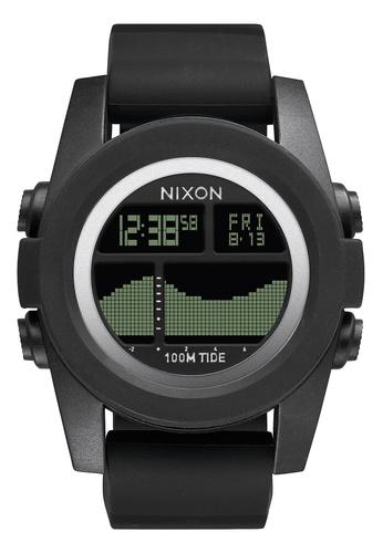 Nixon black Nixon - Unit Tide Black Digital Watch NI855AC06EDLSG_1