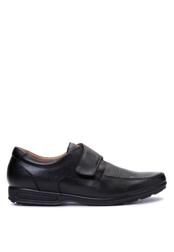 Gibi black Men's Dress Shoes GI342SH14UWVPH_1