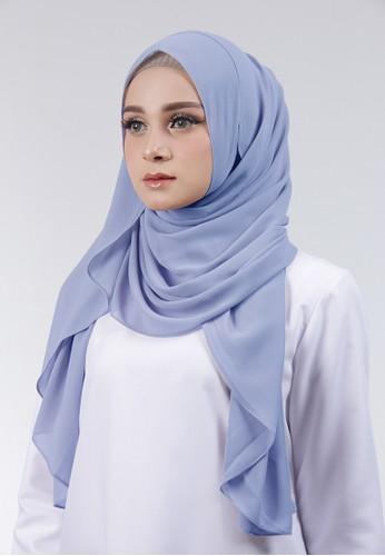Cantik Kerudung blue Adela Instant EEE05AA42B1414GS_1