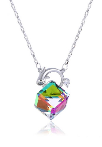 midzone multi Youth's Kate Swarovski Crystal Chain Necklace Special Edition E37CDACDB2CBA0GS_1