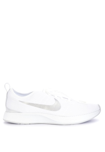 Nike grey and white Women's Nike Dualtone Racer Shoes 8090DSH1BD852EGS_1