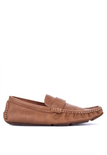 Mendrez brown Fred Loafers 93FD2SH610DE62GS_1