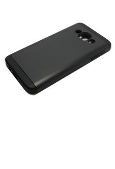 Sleek Shockproof Case for Samsung Galaxy A3 (Black)