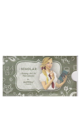 MoYou London green Moyou Scholar 08 Free Nail File 939B8BE85255F6GS_1