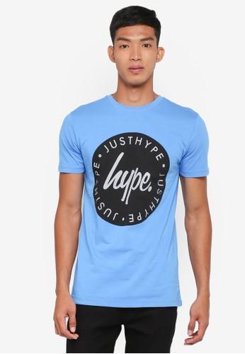 Just Hype blue Lockup Reflective T-Shirt 189FFAA3D1C248GS_1