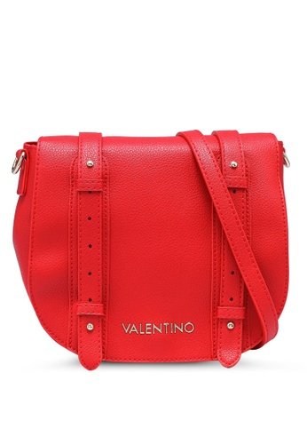 VALENTINO by Mario Valentino red Alma Saddle Bag 90444AC9E93546GS_1