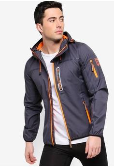 c0c0d3792602e Superdry black Sport Wind Tracker Jacket 46288AAA364588GS 1