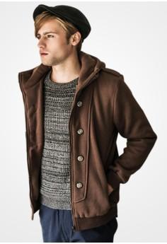 British Gentleman Hooded Jacket