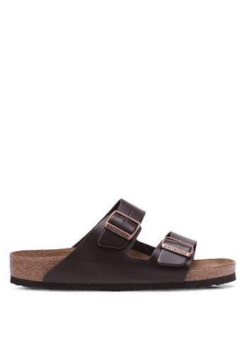 Birkenstock brown Arizona NU SFB Sandals BI090SH0RTJ2MY_1