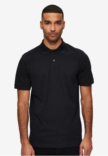 Selected Homme black Neo Polo Shirt 05AA5AA3071316GS_1