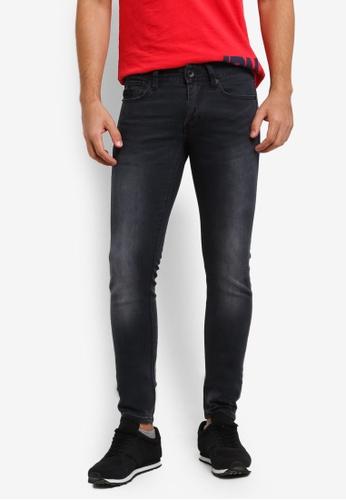 Superdry black Faded Skinny Jeans SU137AA0RIRRMY_1