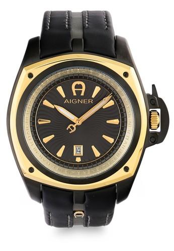 Aigner black Jam Tangan Pria Aigner Lucca A18124 AB85AAC9C89645GS 1 0c870f6e79