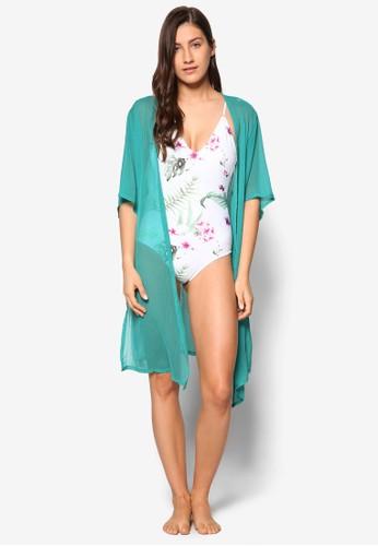 Molly 長版五分袖罩衫, 服飾, 泳esprit outlet 桃園褲及沙灘造型